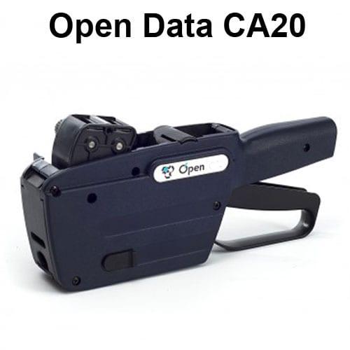 Open CA20 2 line alphanumeric hand label gun