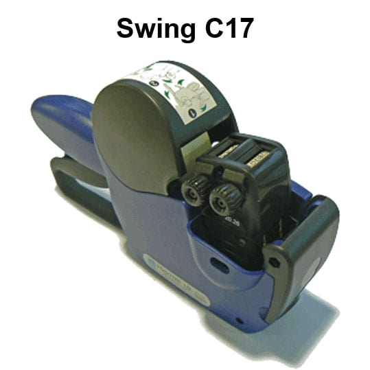 swing c17 2 line label gun