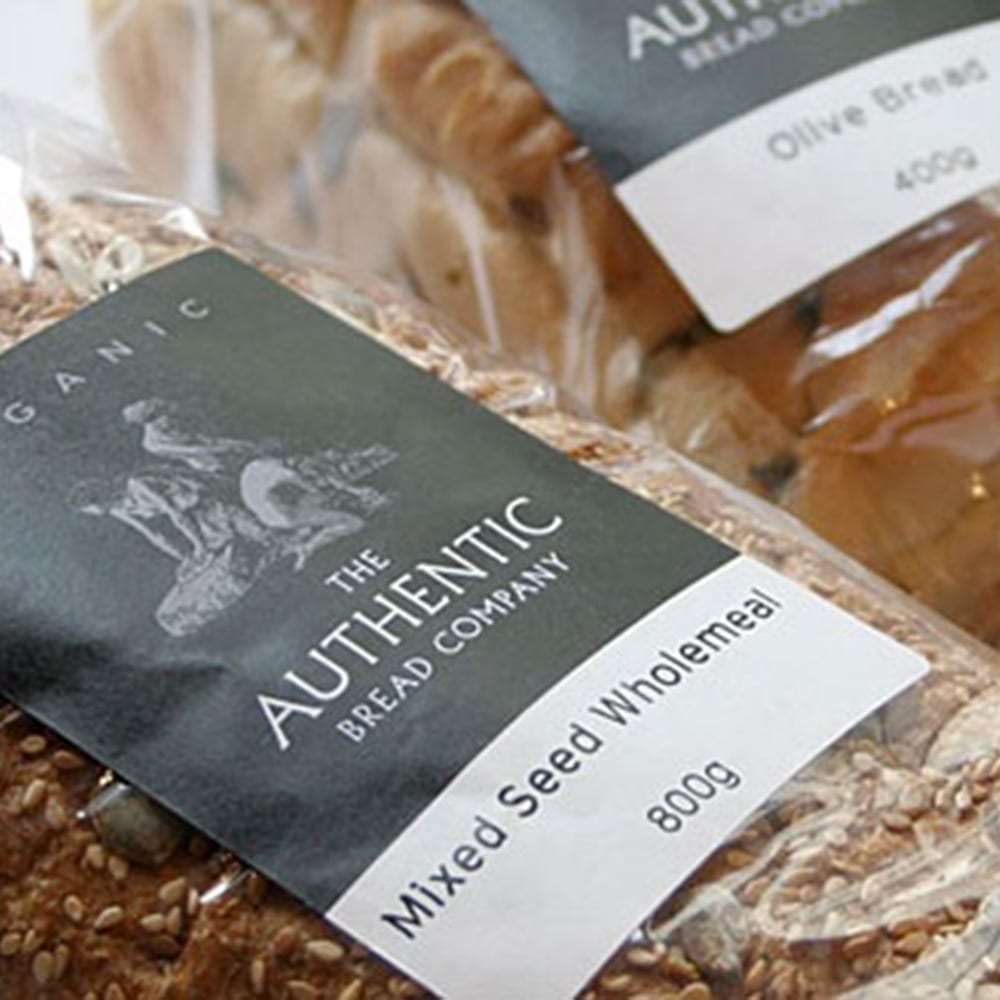Image of some Bread Labels on Packaging Product Image