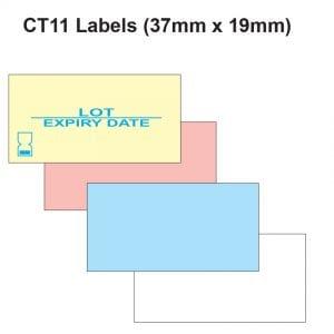 CT11 Labels (37mm x 19mm Label Gun Labels)