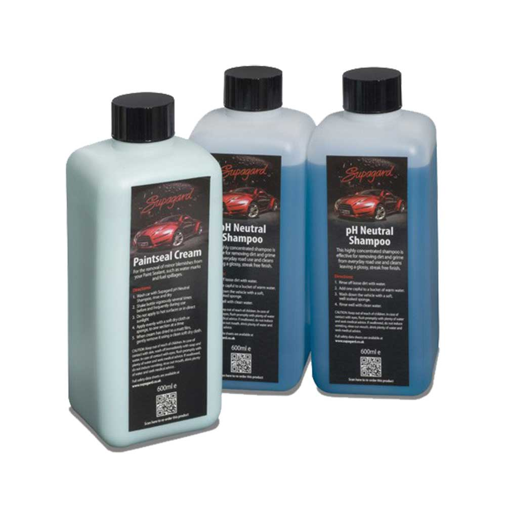 Image of Car Shampoo Labels Product Image