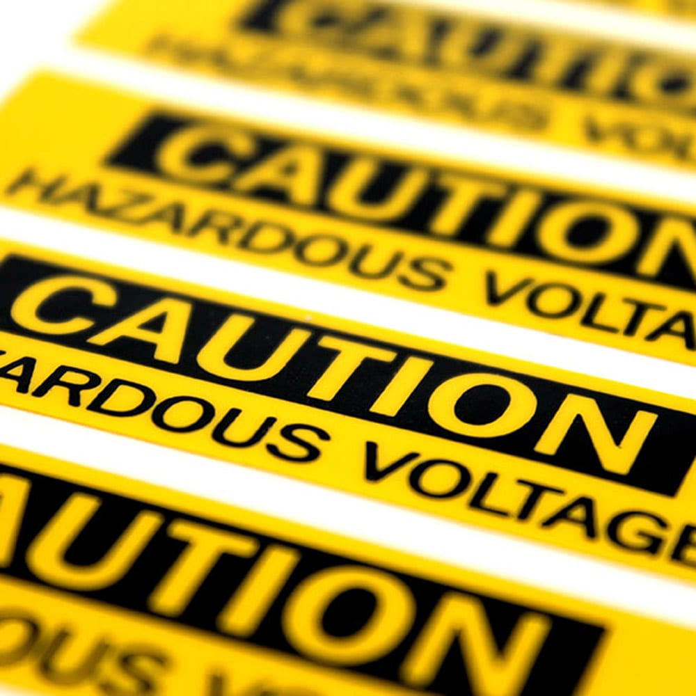 Image of Hazard Labels Product Image