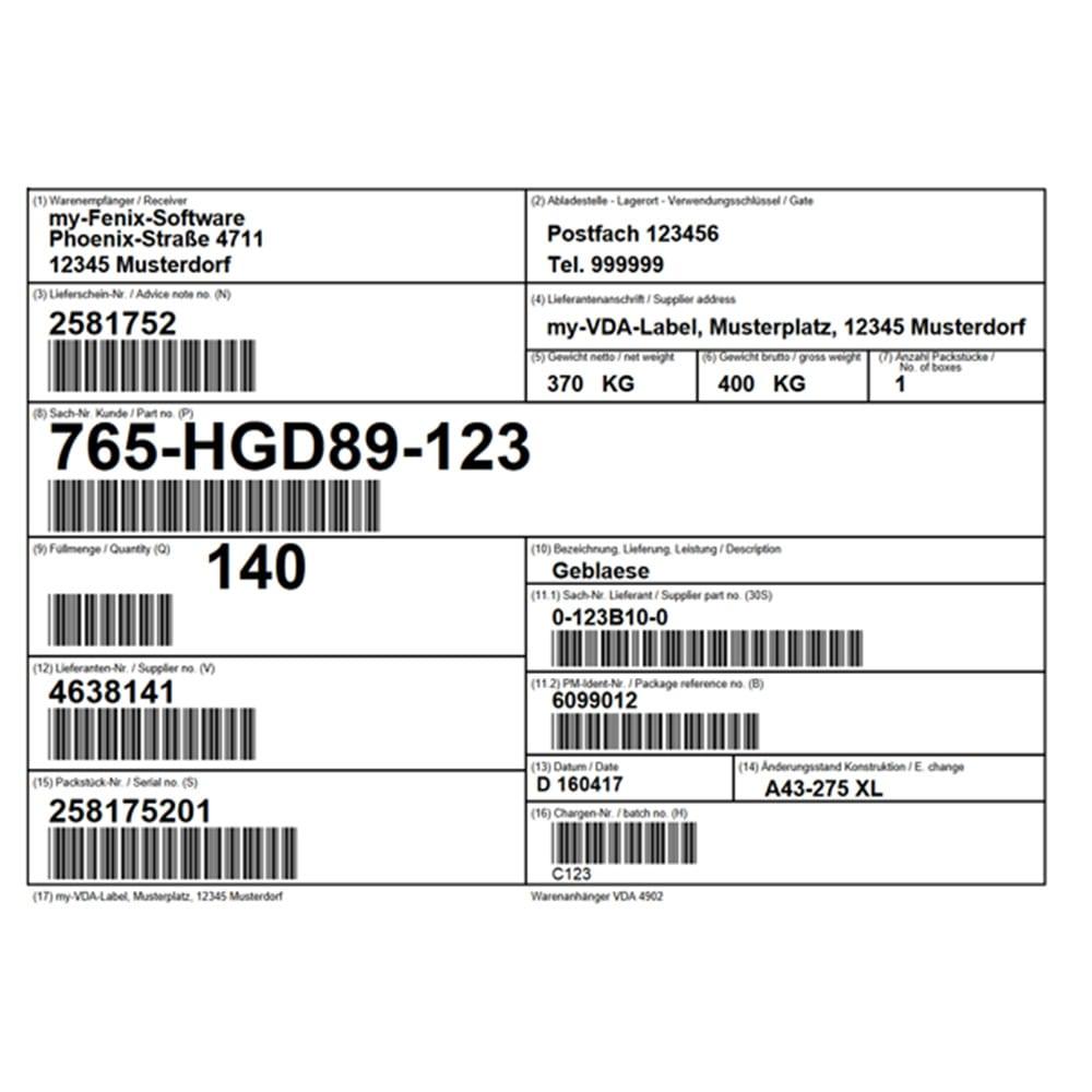 Image of Odette Labels Product Image