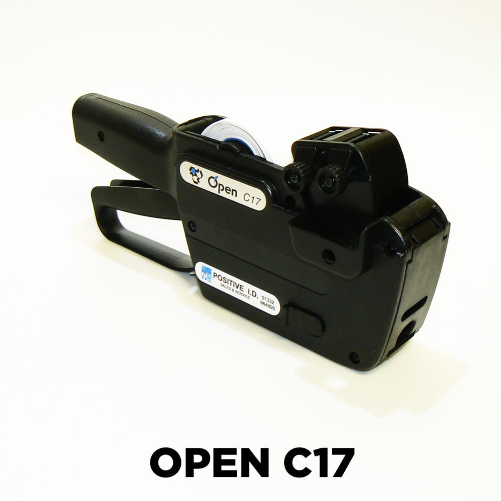 Image of an Open Data C17 Pricing Guns