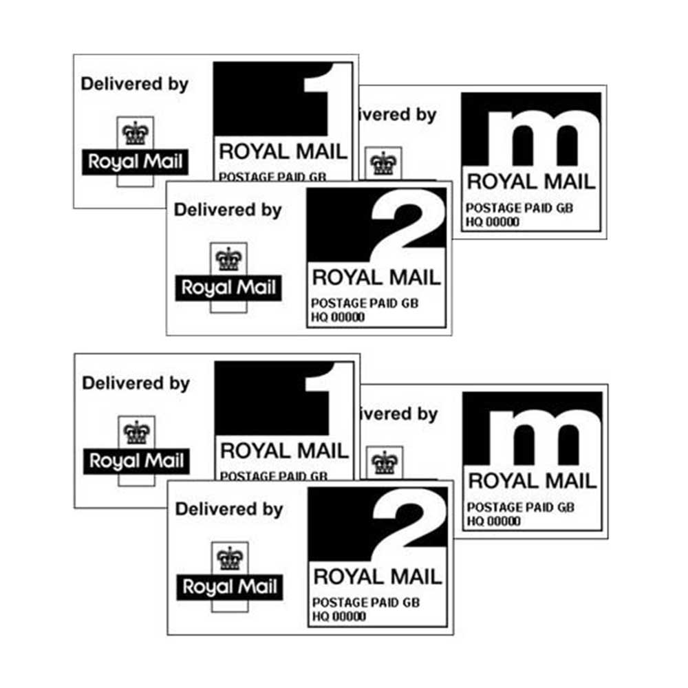 postal labels positive id labels