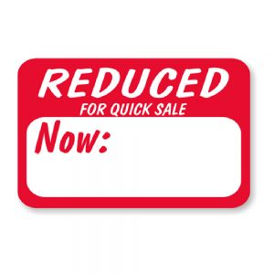 Reduced Price Labels