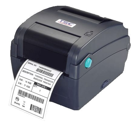 TSC TTP245C Desktop Barcode Label Printer