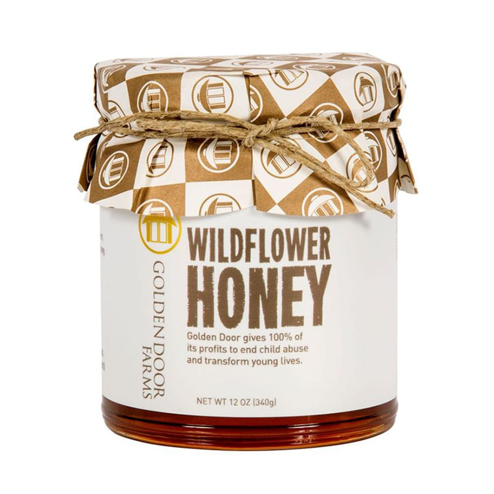 Image of honey label attached to jar Product Image