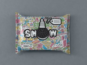 Oreo Colorfilled_ Snow Single