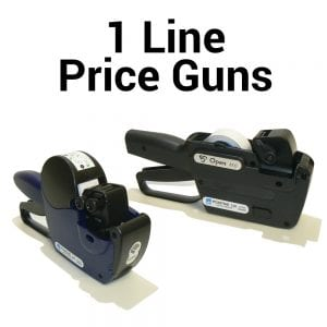 1 Line Price Guns