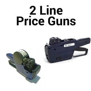 2 Line Price Guns