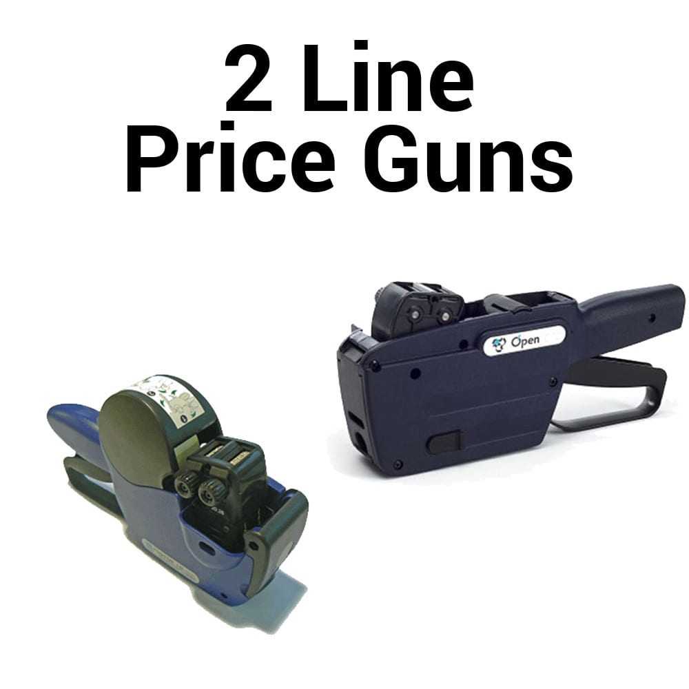 Image of Swing C16 and Open C20 2 Line Price Guns