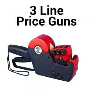 3 Line Price Guns