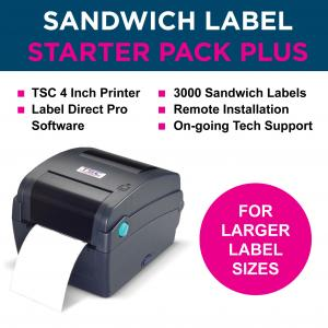 affordable sandwich labelling - Starter-Pack-Plus