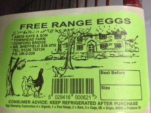 egg label example