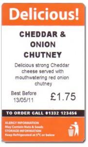 image of a delicious sandwich labels design