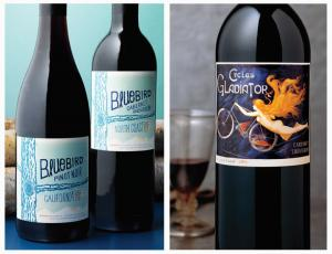 Digitally print wine labels